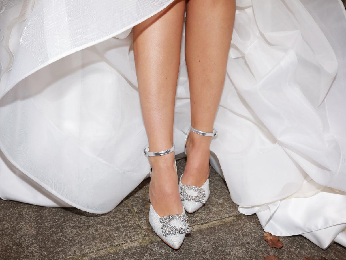 Scegliendo l\'abito da sposa o da sposo da Le Spose di Maratana le scarpe sono in omaggio